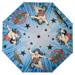 DC Comics Wonder Woman Liquid Reactive Umbrella - Masters Of Geek