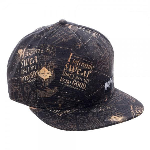 Harry Potter I Solemnly Swear Snapback - Masters Of Geek