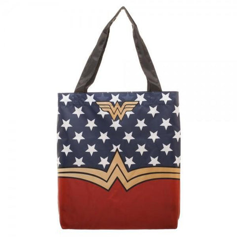 DC Comics Wonder Woman Packable Tote - Masters Of Geek