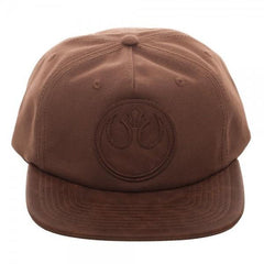 Rebel PU Leather Patch Wax Canvas Snapback - Masters Of Geek