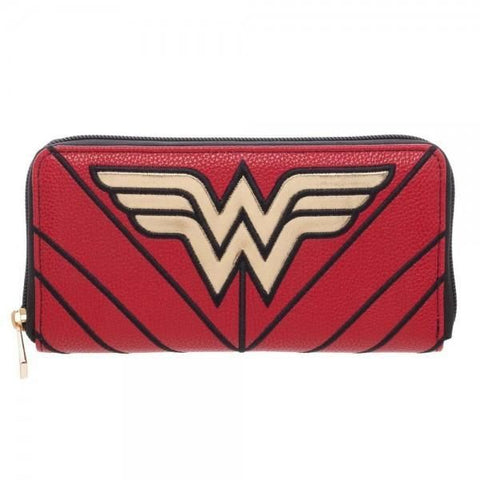 DC Comics Wonder Woman Zip Around Wallet - Masters Of Geek