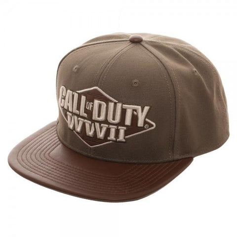 Call of Duty: World War II 3D Embroidered Snapback - Masters Of Geek