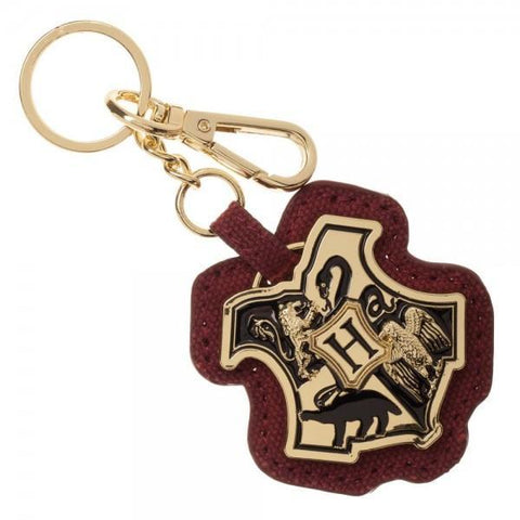 Harry Potter Hogwarts Layered PU Keychain - Masters Of Geek