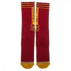 Harry Potter Hogwarts Vertical Text Crew Sock