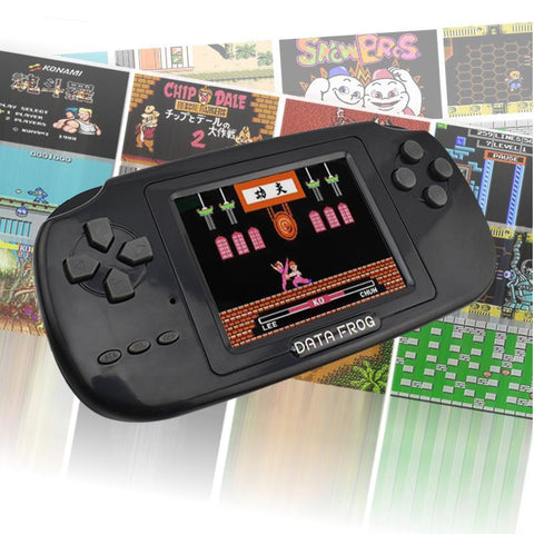 8-Bit Handheld Game Console With 168 Classic Games - Masters Of Geek