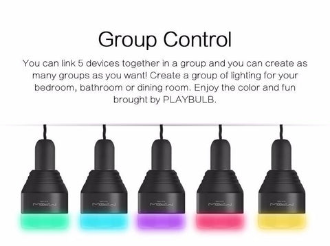 Bluetooth Smart LED Color Changing Light Bulb - Masters Of Geek
