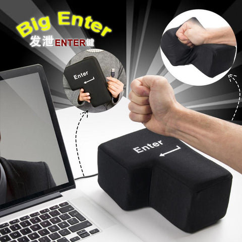 Big Enter Key USB Anti-stress - Masters Of Geek