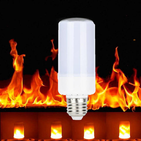 5W LED Flickering Flame Effect Bulb E12 B22 E14 E26/27 - Masters Of Geek