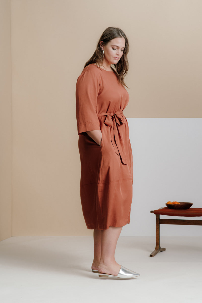 The Cambridge Tie Dress