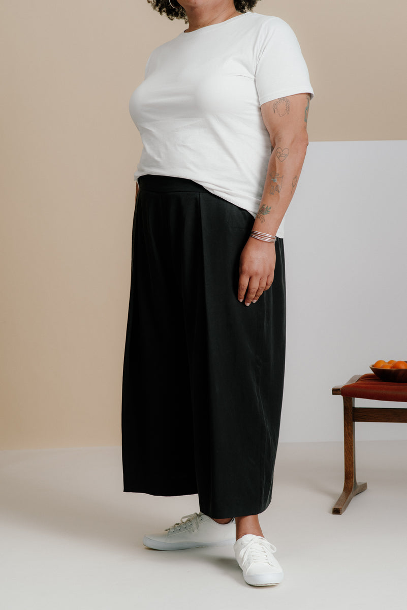 3fd3059a83303 The Pleated Culottes – And Comfort