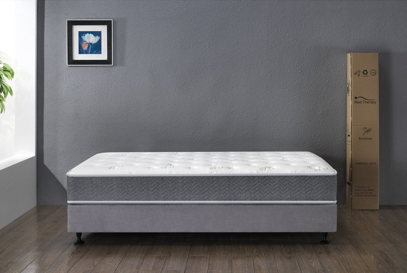 2af316d93cbc Rest Therapy 9 Inch Retreat Bamboo Pocket Coil Mattress – West Egg