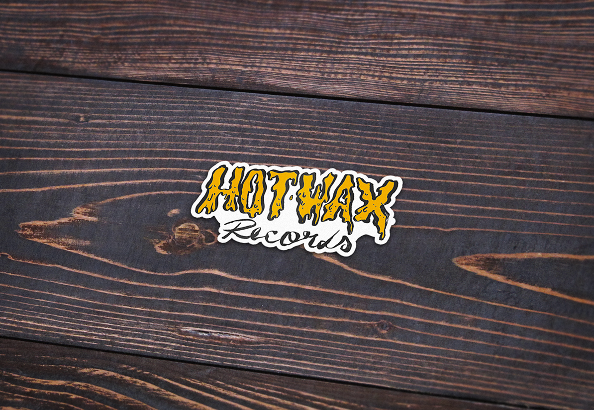 Hot Wax Custom Shaped 10cm Vinyl Sticker