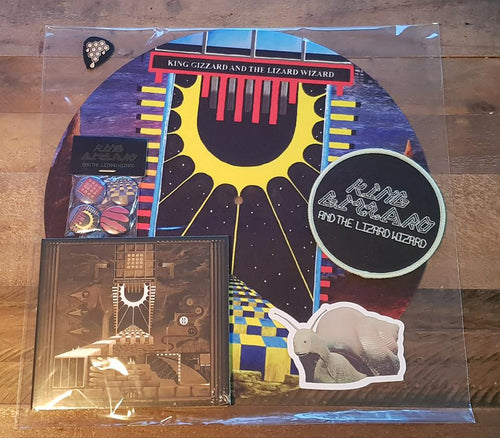 King Gizzard & The Lizard Wizard Polygondwanaland Merch Bundle (Free Worldwide Shipping)
