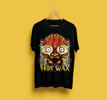 HWR Custom 2019 'Wax Beast' Tee - Stanley Stella Organic Cotton Round Neck - Black