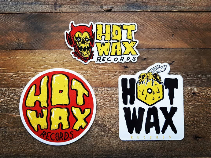 Hot Wax Custom 2019 Sticker Set