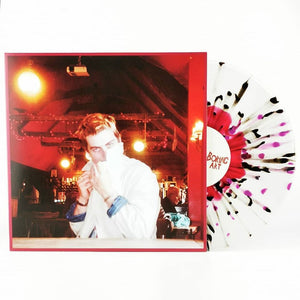 In Stock ~ Tinnedfruit ~ Boring Art ~ Clear Vinyl With Red Blob & Black + Pink Splatter ~ Limited to 100