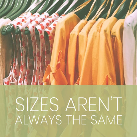 Sizes are not the same