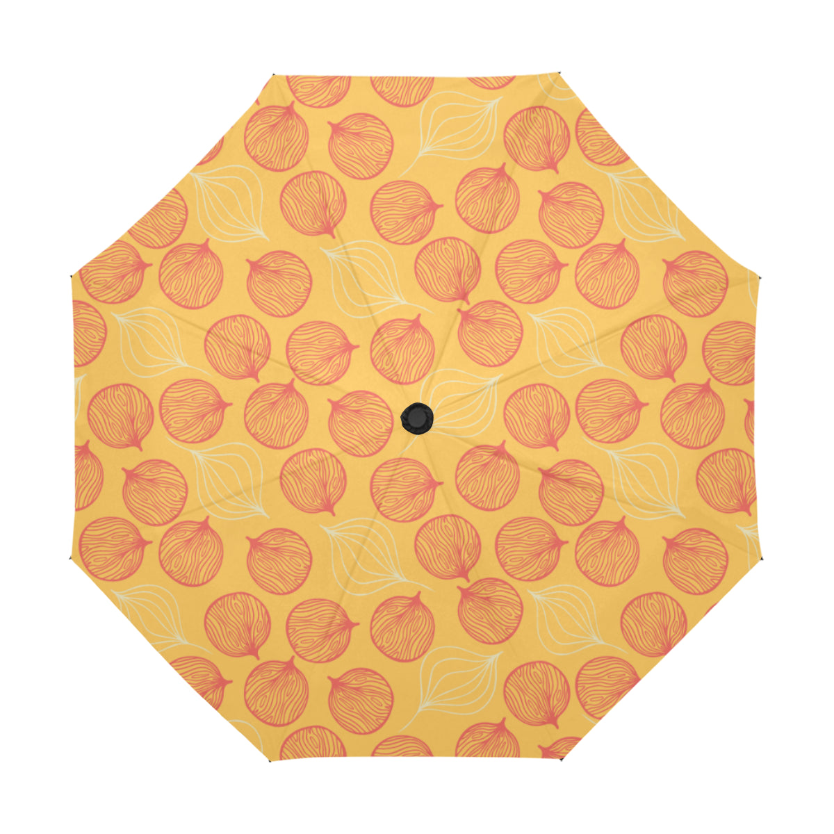 Lucky Red Pong Pong SG22 Anti-UV Automatic Umbrella(Outside Printing)(Model U09)-Geckojoy