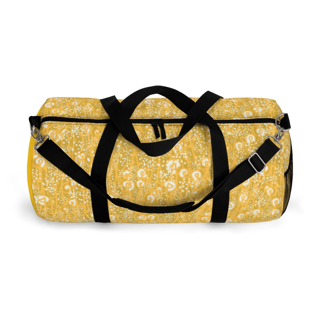 Yellow Grass Duffel Bag-Geckojoy