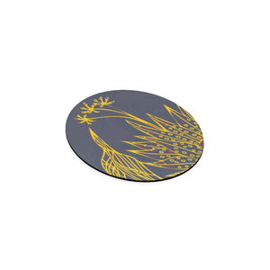 Blooming Hot Incense Round Coaster-Geckojoy