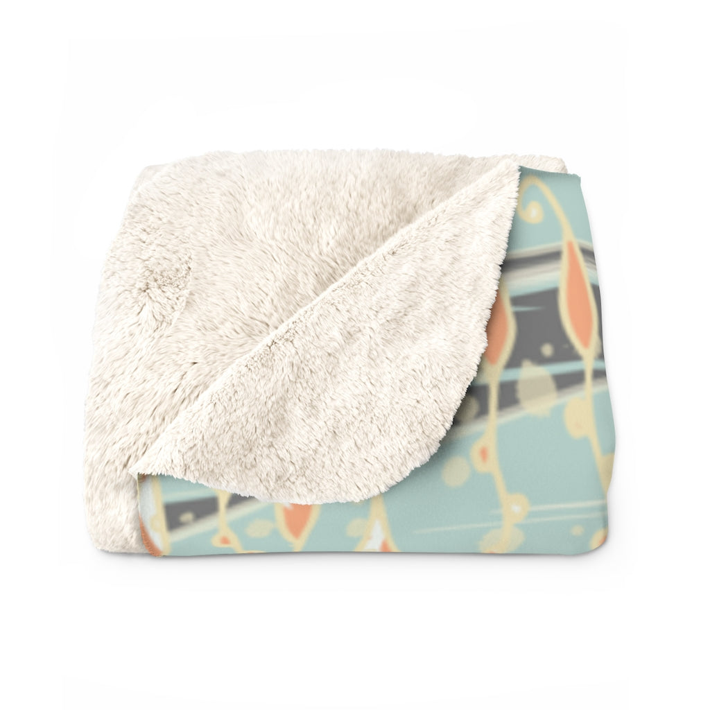 Sea Turtles Sherpa Fleece Blanket-Geckojoy