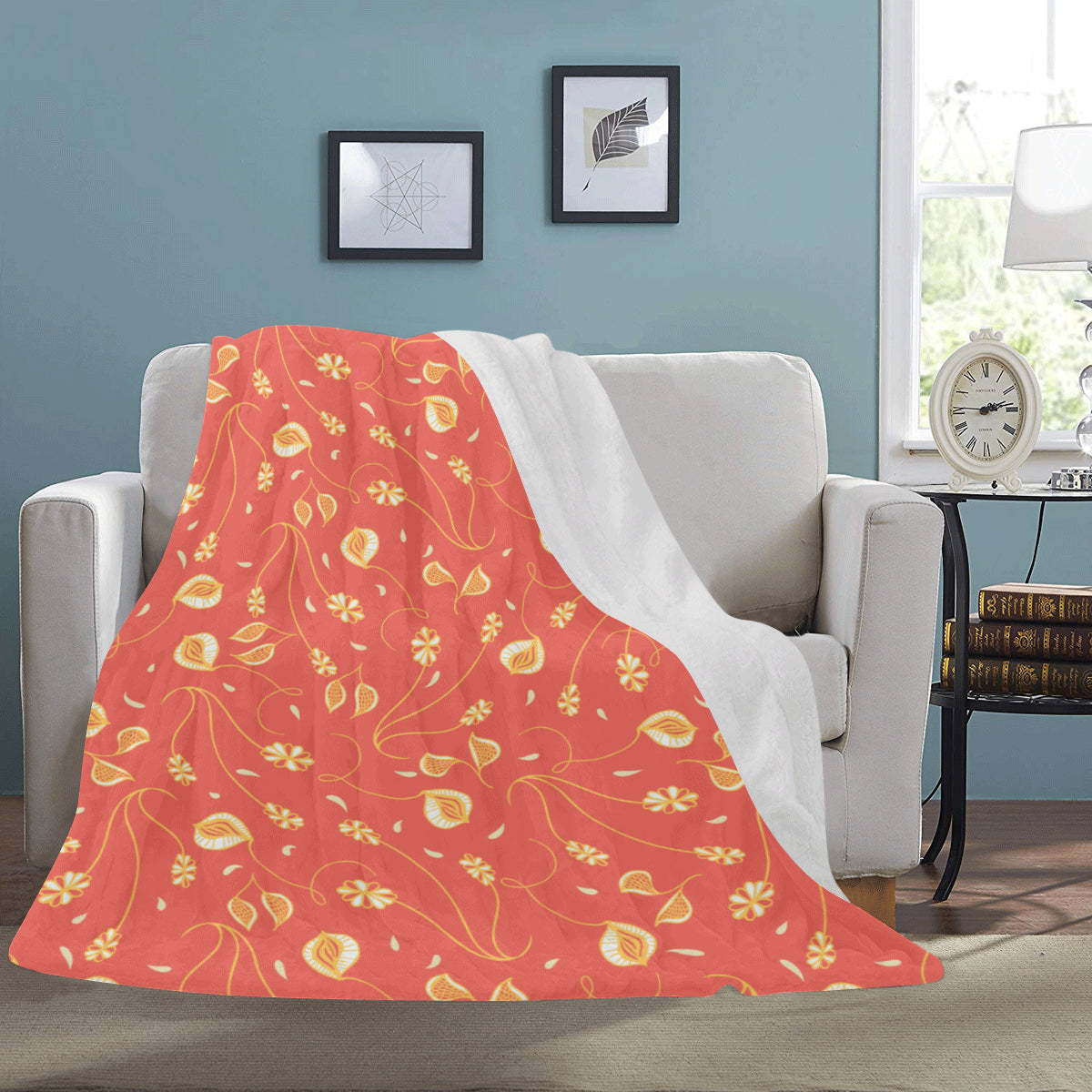 Gilded Gliders - Fleece Blanket-Geckojoy