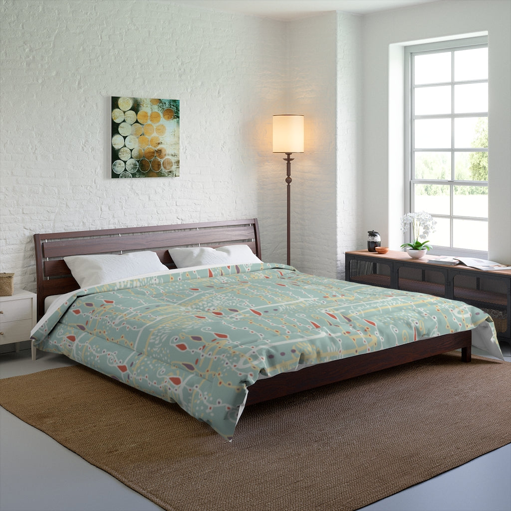 Diving for Pearls Comforter-Geckojoy