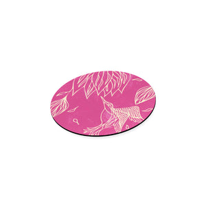 Hovering Ecstatic Shapes Round Coaster-Geckojoy
