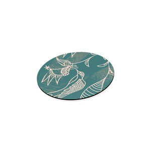Blooming Beautiful Flight Round Coaster-Geckojoy