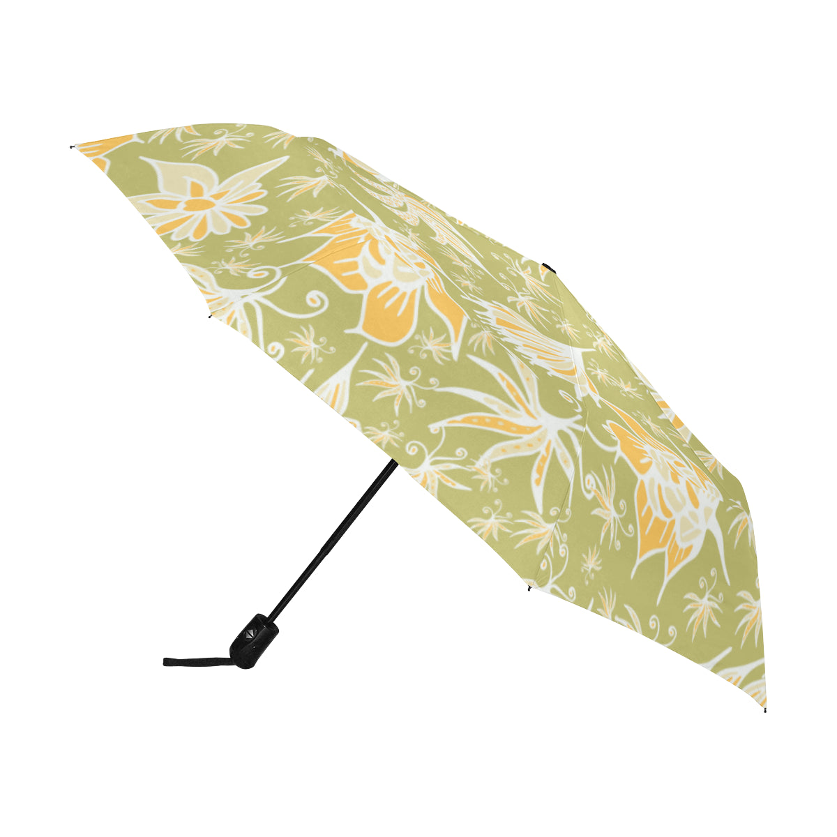 Wildflowers SG48 - Anti-UV Automatic Umbrella(Outside Printing)(Model U09)-Geckojoy