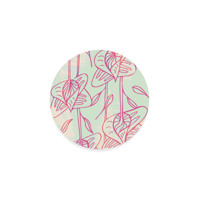 Falling Beautiful Song Round Coaster-Geckojoy