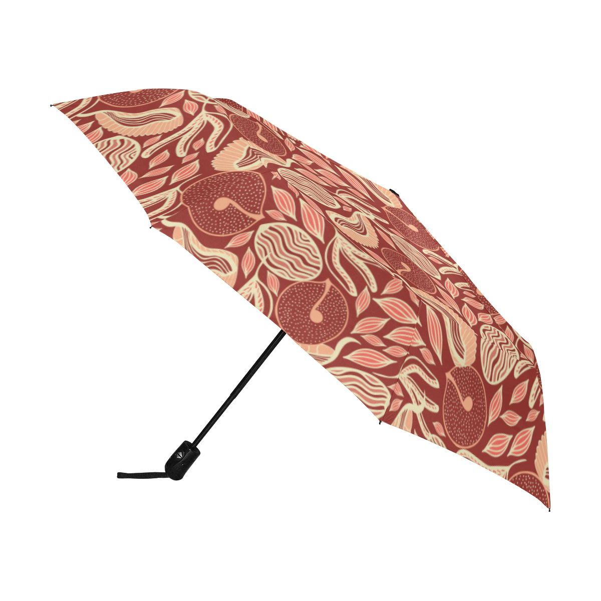 Chocolate Forest SG37 Anti-UV Automatic Umbrella(Outside Printing)(Model U09)-Geckojoy