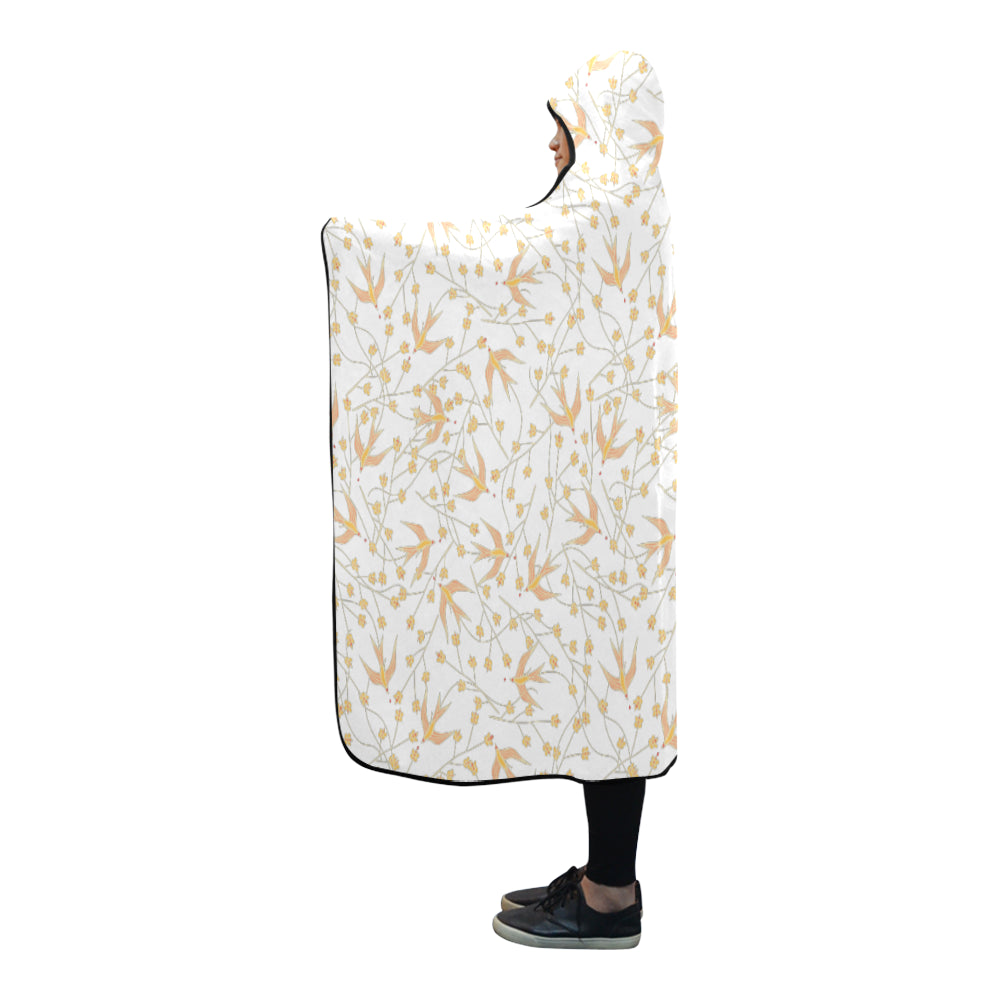 Chasing Birds - Hooded Blanket-Geckojoy