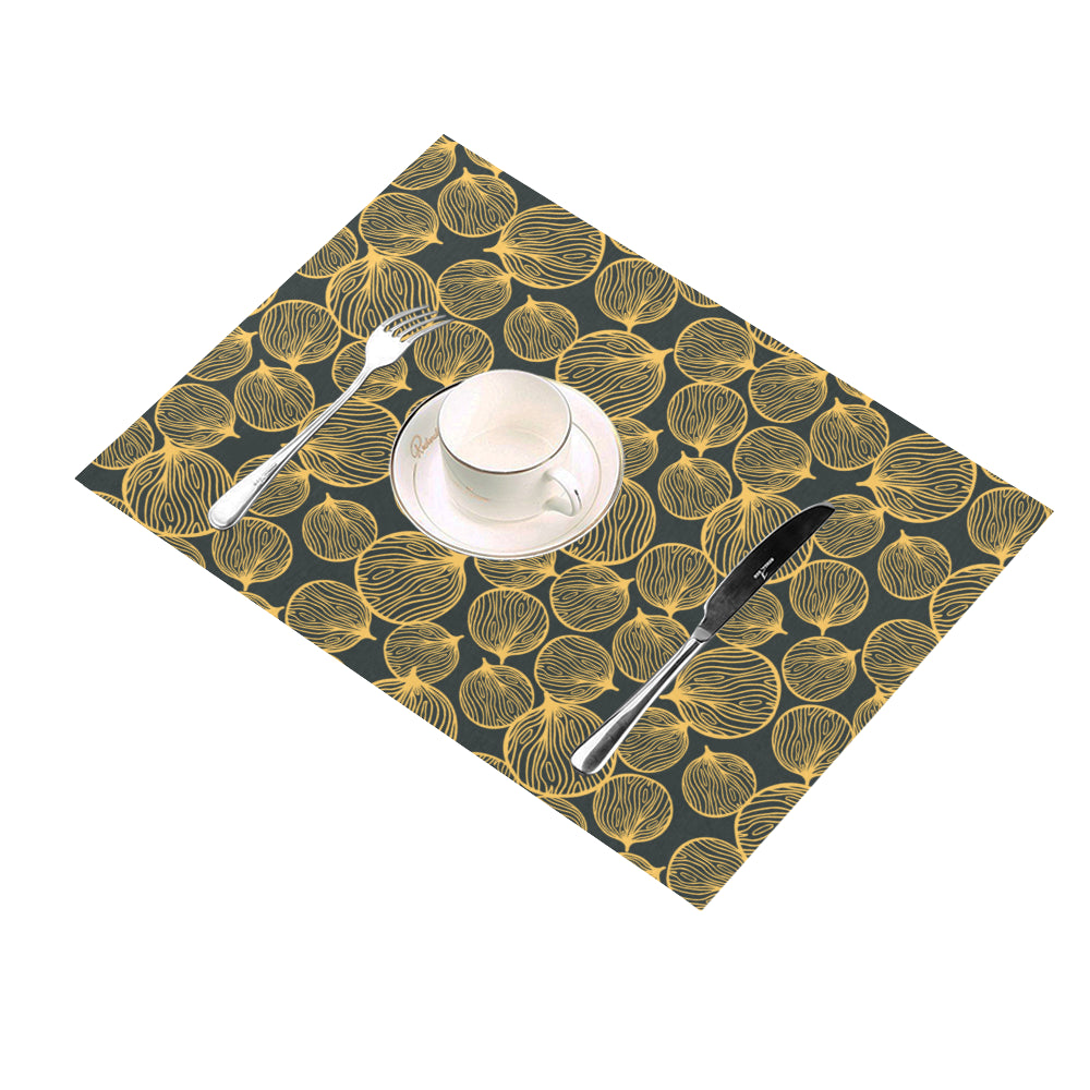 Lucky Gold Pong Pong - Placemats-Geckojoy