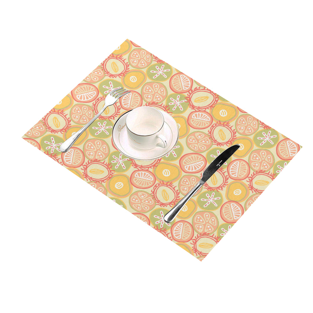 Sun-kissed Fruit - Placemats-Geckojoy