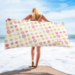 Fruit Drops Beach Towel-Geckojoy