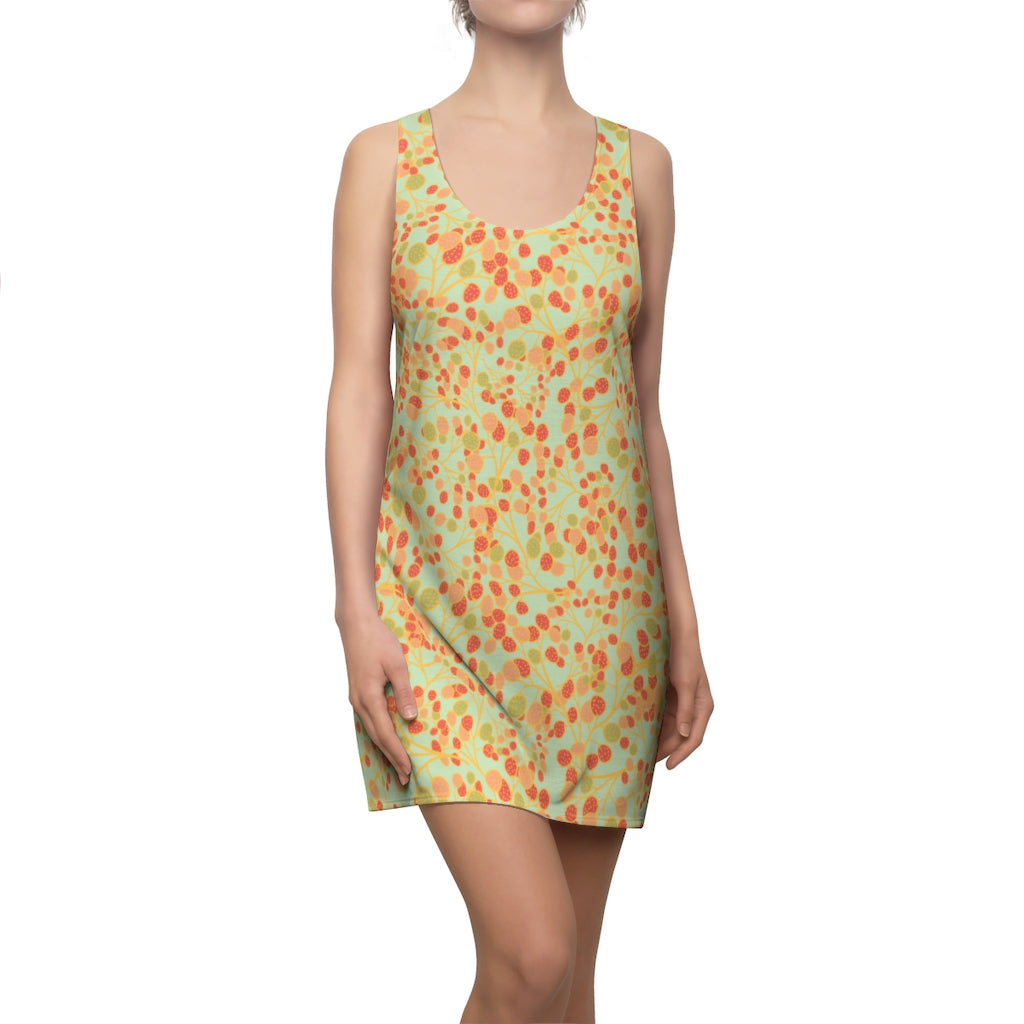 Ripening Rambutans Racerback Dress-Geckojoy