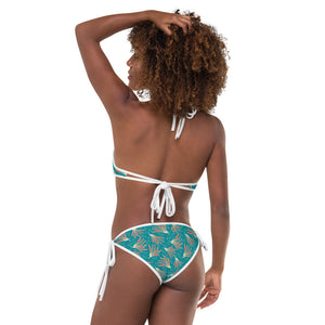 Luck Red Pong Pong Bikini-Geckojoy