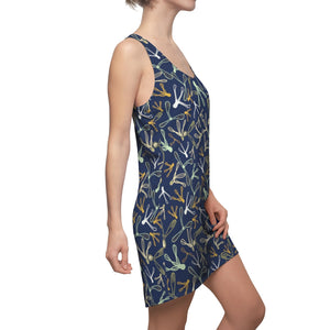 Spiralling Seeds Racerback Dress-Geckojoy