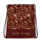 Love Birds Drawstring Bag-Geckojoy