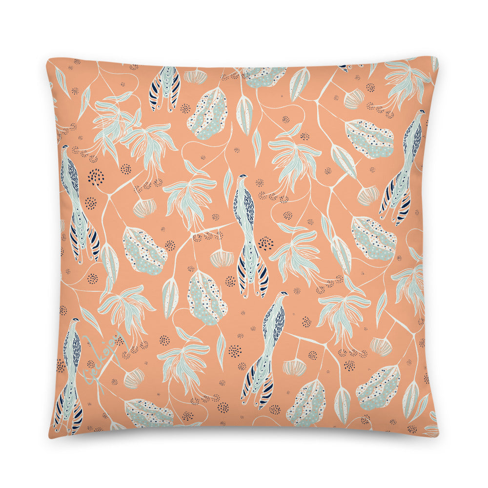 Coastal Courtyard Indoor Pillow-Geckojoy