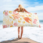 Rare Bird Beach Towel-Geckojoy
