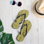 Beaded Trees Flip-Flops-Geckojoy