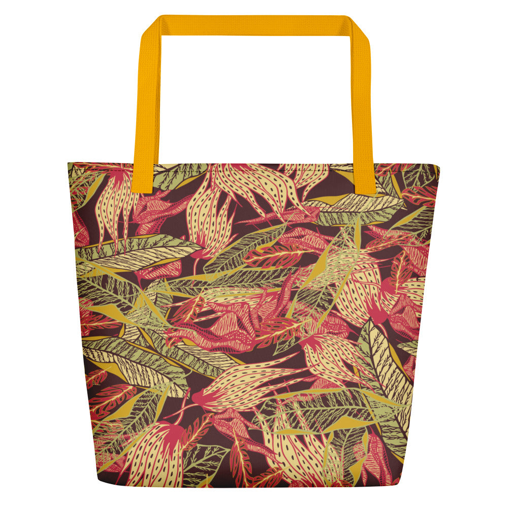 Forest Floor Beach Bag-Geckojoy