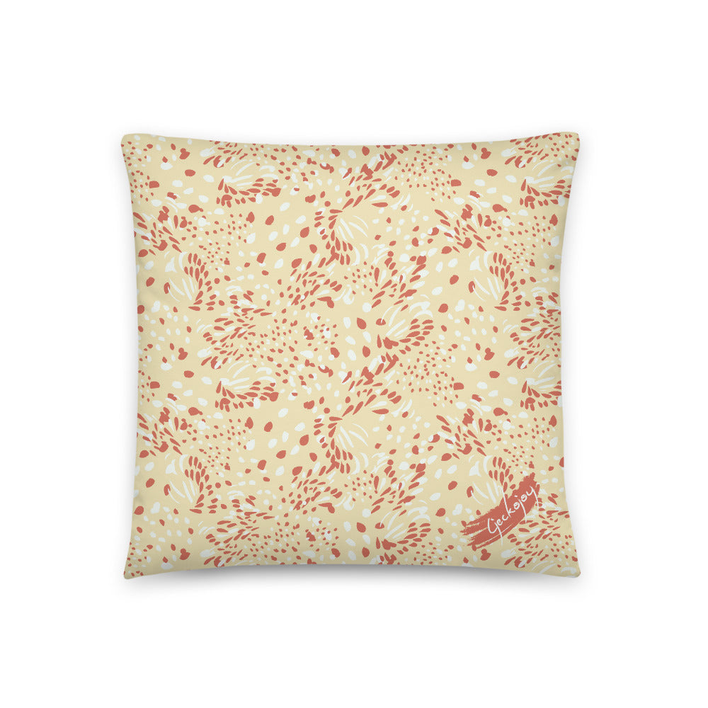 Kuaci Seeds Red Indoor Pillow-Geckojoy