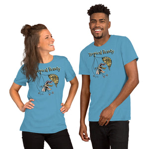 Tropical Beauty Unisex Light Tees-Geckojoy