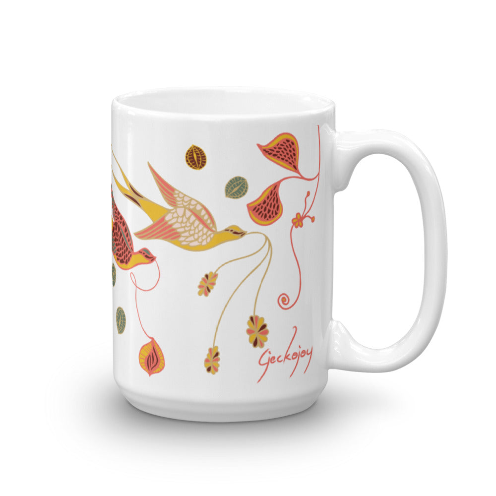Love Birds Mug-Geckojoy