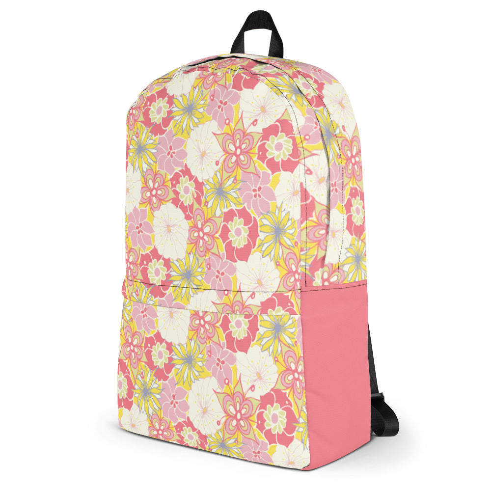Flower Child Backpack-Geckojoy