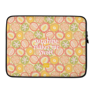 Sun-kissed Fruit Laptop Sleeve-Geckojoy