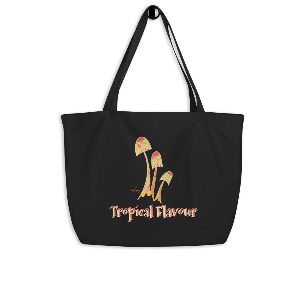 Tropical Flavour Personalised Organic Shopping Bag-Geckojoy